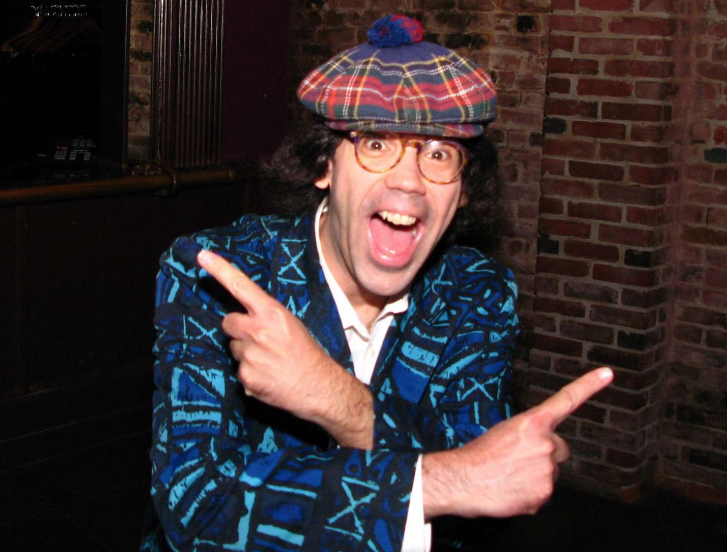 The 52-year old son of father (?) and mother(?) Nardwuar in 2020 photo. Nardwuar earned a  million dollar salary - leaving the net worth at  million in 2020