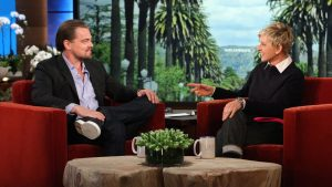 "Major celebrities, including Leonardo DiCaprio, have made guest appearances on ""The Ellen Show."""