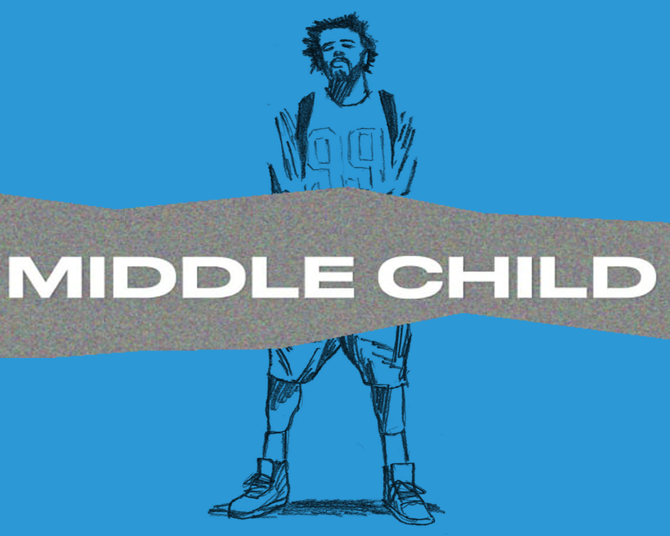 """Middle Child"" points out the rap industry's shortcomings, and gives the black community hope. (Illustration via Luca Bowles, Kingston University)"