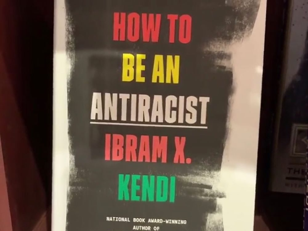 Copy of book How To Be an Antiracist