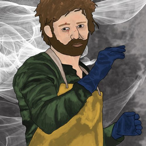 Illustration by Anastasia Willard of Jesse Pinkman from 'Breaking Bad'