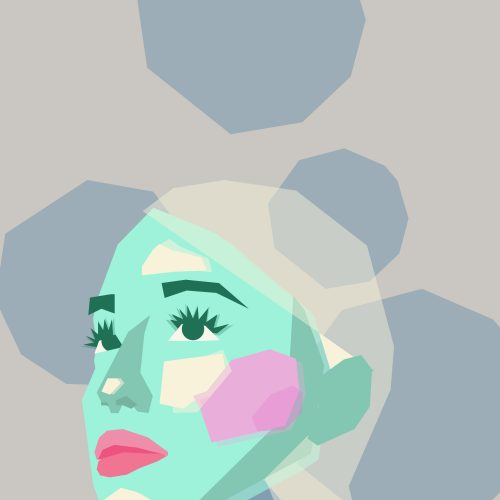 Illustration of Ariana Grande by Natasha McDonald