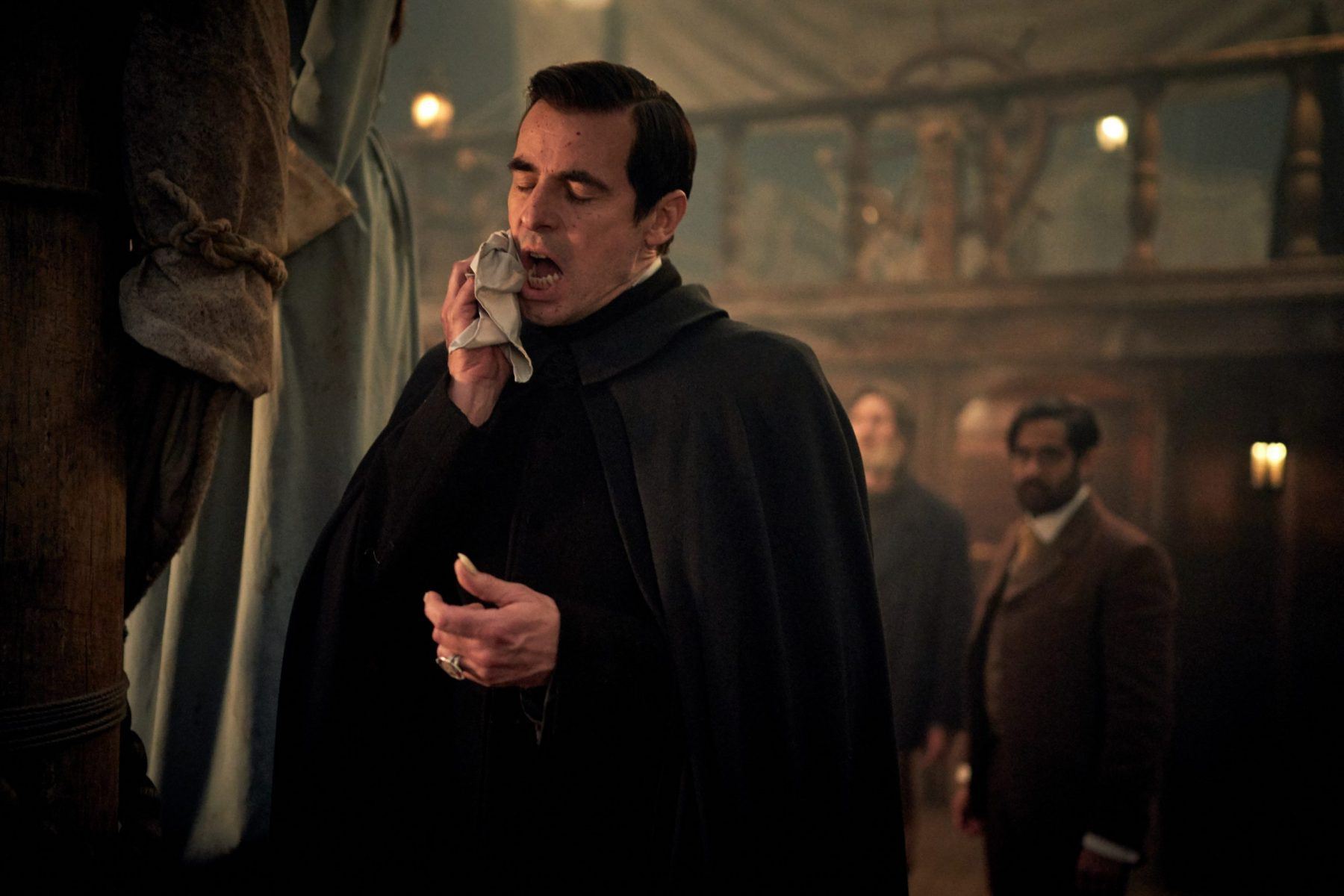 Claes Bang as Dracula in the BBC series Dracula